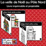 La veille de Noël au Pôle Nord  Livre imprimable et projetable