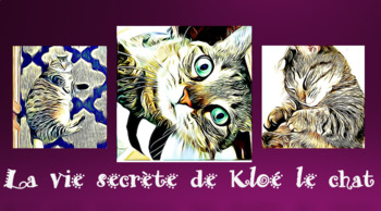 La vie secrète de Kloé le chat - French CI - TPRS - adjectives - directions