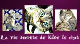 La vie secrète de Kloé le chat - French CI - TPRS - adject