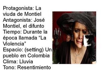 La viuda de Montiel PPT