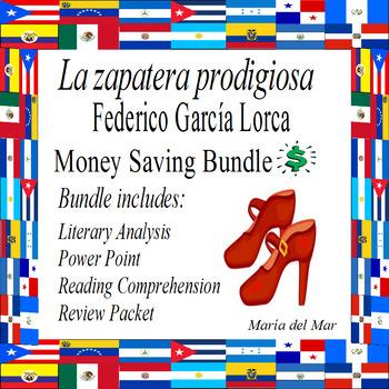 La zapatera prodigiosa por Federico Garcia Lorca (Mini Bundle)