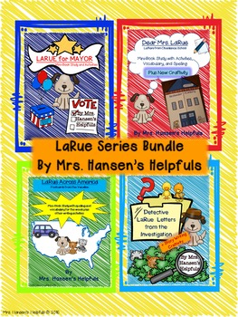 LaRue Series Bundle of Literature Studies plus Bonus pages