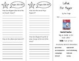 LaRue for Mayor Trifold - Wonders 4th Grade Unit 4 Week 2