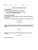 Lab #15: Organic Compound Modeling