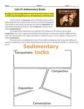 Lab #9: Sedimentary Rock Identification