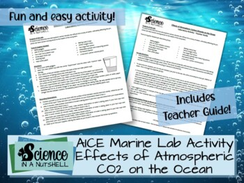 Lab Activity - Effects of Atmospheric Carbon Dioxide on the  Ocean