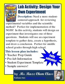 Lab Activity: Experimental Design (Design Your Own Lab)