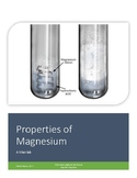 Lab Activity: Properties of Magnesium (An Alkali Metal Mini-lab)