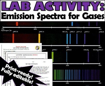 Lab Activity: Spectral Emissions