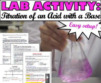 Lab Activity: Titrations (Strong Acid-Strong Base Titration)