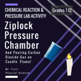 Lab Activity: Ziplock Pressure Chamber & Pouring CO2 Gas to Extinguish Candle!
