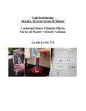Lab Activity for Density, Percent Error and Forms of Matter