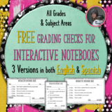 Interactive Notebook Check