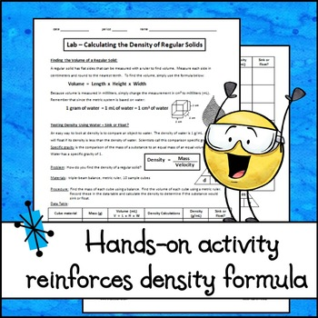 Lab - Calculating the Density of Regular Solids