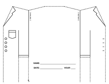 Lab Coat Foldable