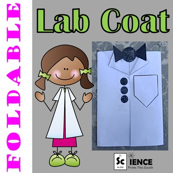 Lab Coat Foldable For Your Science or STEM Students