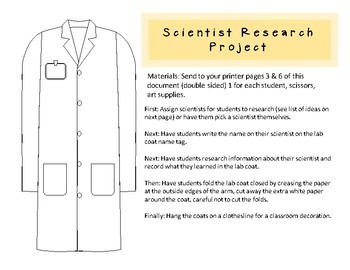 Lab Coat Get to Know You