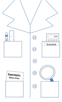 Lab Coat Template By Sciencebear