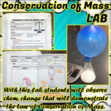Lab: Conservation of Mass