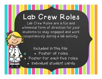 Lab Crew Roles