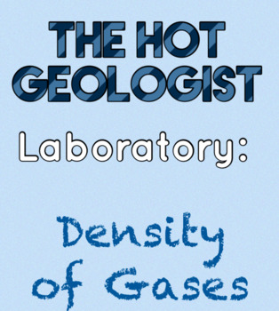 Lab: Density of Gases