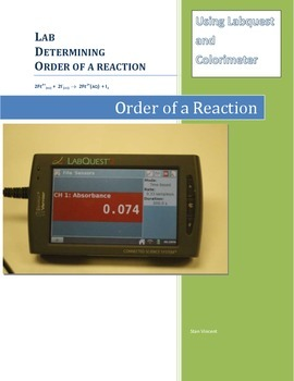 Lab - Determining order of a reaction - Labquest