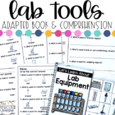Lab Equipment Adapted Book & Comprehension for Special Education
