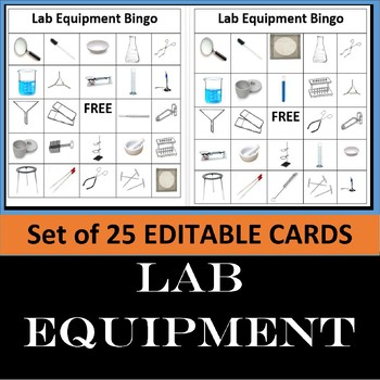 Lab Equipment Bingo