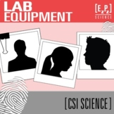 Lab Equipment CSI Science Mystery- Distance Learning