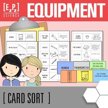 Lab Equipment Card Sort