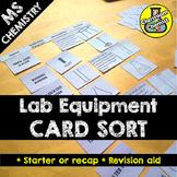 Lab Equipment Activity - Card Sort