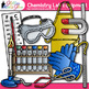 Chemistry Clip Art Lab Equipment {Measurement & Safety Tools for Science}