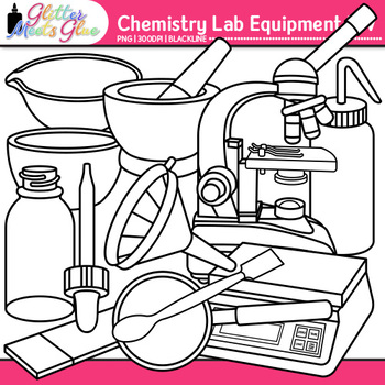 Chemistry Clip Art Lab Equipment