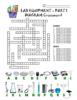 Lab Equipment Crossword wit... by Tangstar Science | Teachers Pay ...