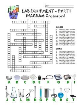 Lab Equipment Crossword With Diagram Part 1 Free