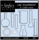 Lab Equipment Clipart {A Hughes Design}
