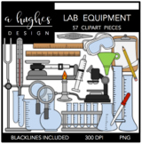 Lab Equipment Clipart {A Hughes Design}