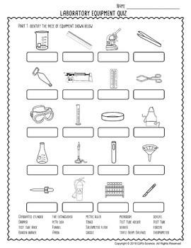Lab Equipment Science Quiz