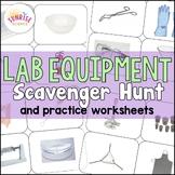 Lab Equipment Scavenger Hunt and Practice Activities