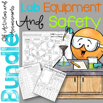 Lab Equipment and Tools Unit Activities and Assessments Bundle