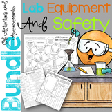 Lab Equipment and Safety Bundle of Activities and Assessments
