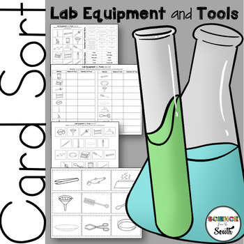 Lab Equipment and Tools Matching Manipulative Activity