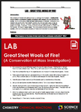Lab - Great Steel Wools of Fire (A Conservation of Mass In