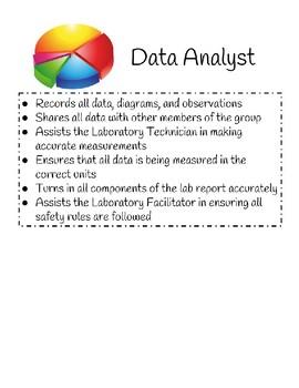 Lab Group Roles