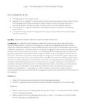 High School Biology Lab - Homeostasis (Regulation and Feedback)