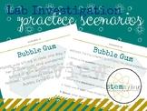 Lab Investigation Scenarios Practice (NGSS ALIGNED) - Scie