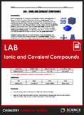 Lab - Ionic and Covalent Compounds