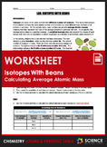 Lab - Isotopes With Beans (Calculating Percent Abundance &
