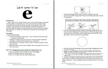 Lab: Letter