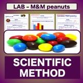 Lab M&M Peanuts using the Scientific Method - Lab Report E